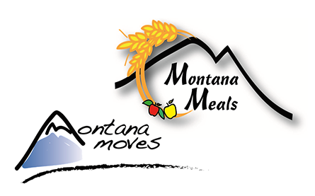 Montana Moves and Meals Logos
